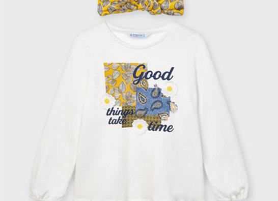 T-shirt avec bandeau Mayoral