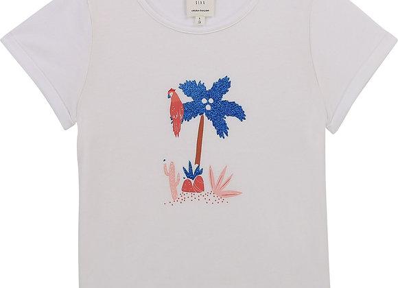 t-shirt en jersey de coton Carrément Beau