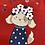 Thumbnail: T-shirt rouge petit chien Mayoral