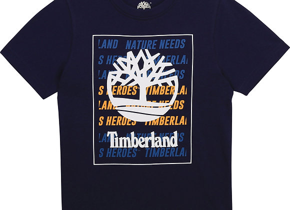 t-shirt manches courtes en jersey Timberland