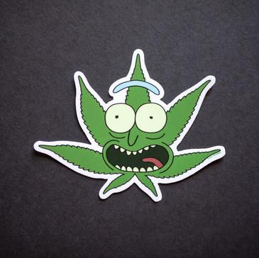 ProCannaPix Pot Leaf Rick Sticker