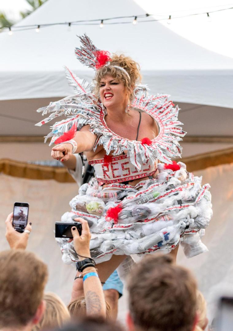 Trash Fashion Show Kona Brewers Fest