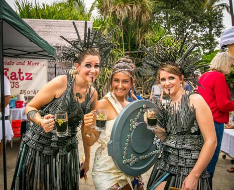 Kona Brewers Festival Trash Fashion Show