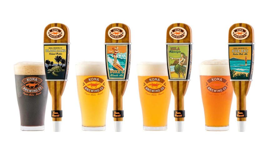 Kona Brewing Co Line Up of Tap-Handles.jpg