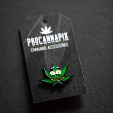 ProCannaPix Pot Leaf Rick Pin