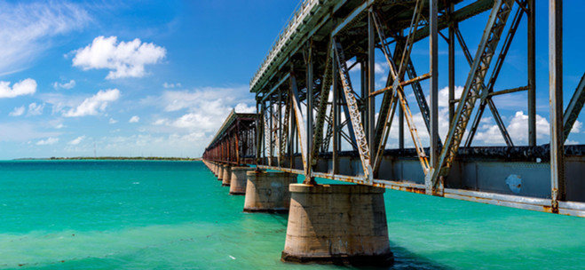 Key West Florida Bahia Honda Panoram