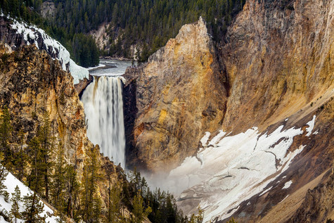 Yellowstone National Park Upper Falls