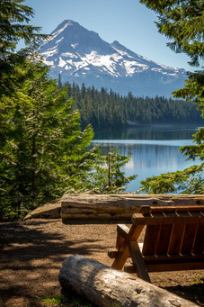 Pacific Northwest Moutain View