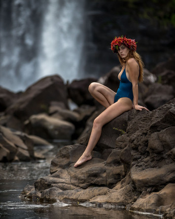Hawaii Swimsuit Modeling Evelyn #2