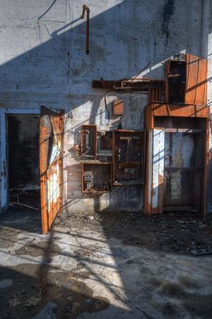 Portland Shadowed Rusty Remains
