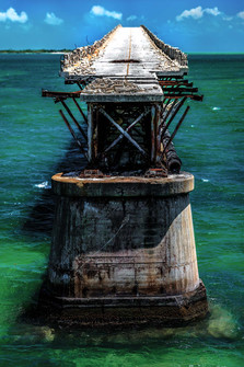 Key West Florida Bahi Honda Bridge Profile