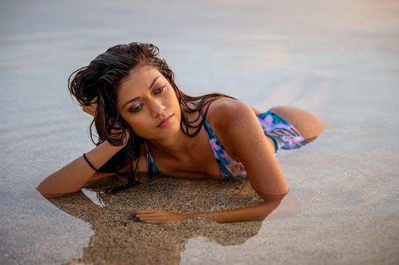 Hawaii Swimsuit Modeling Lei