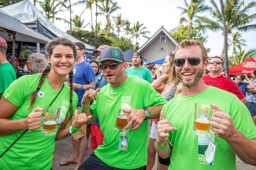 Kona Brewers Festival Volunteer