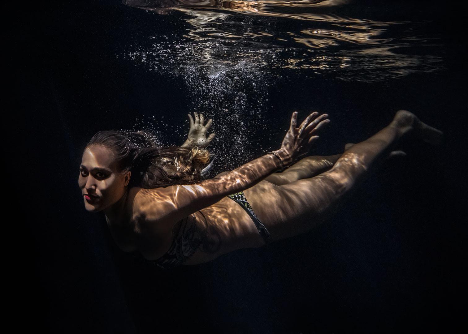 Soaring Through Water