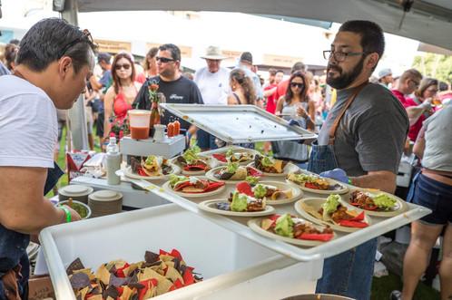 Kona Brewers Festival Cooking Food