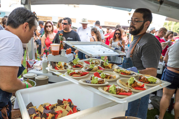 Kona Brewers Festival Cooking Food
