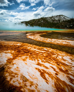 Yellowstone National Park Chromatic Pool