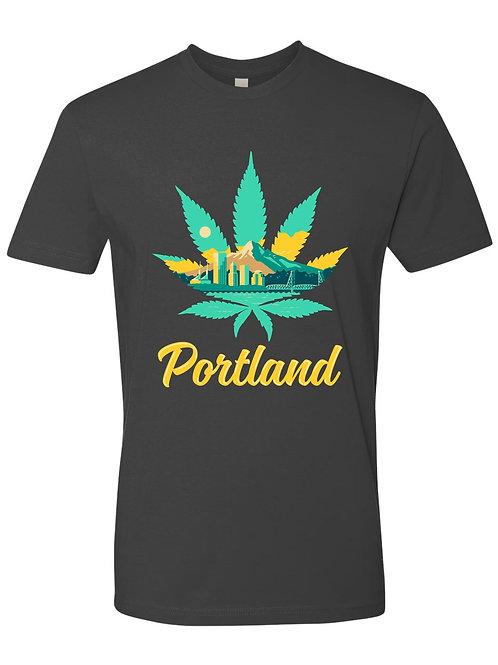 Portland Leaf Day Tee Shirt