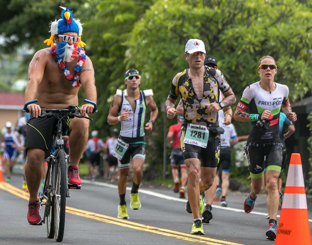 2017 Ironman World Championship Hawaii Goofy Fans
