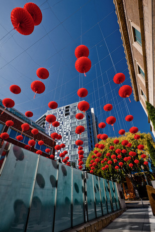 Portland Red Lantern Square