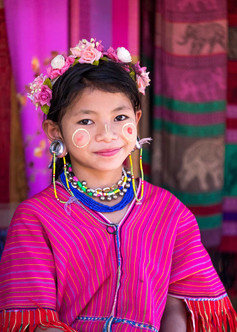People of Thailand Smirk