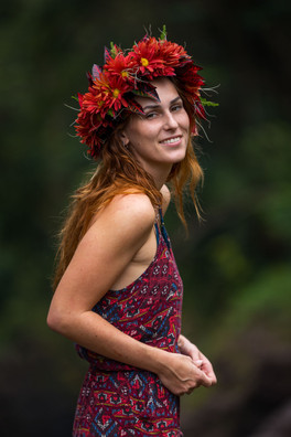 Evelyn Hawaiian Crown #1