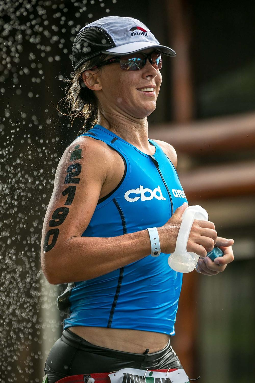 2017 Ironman World Championship Hawaii Women Athletes smile