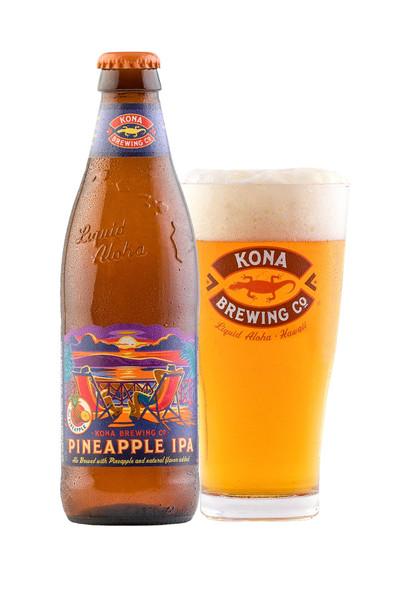 Kona Brewing Co Pineapple IPA Bottle