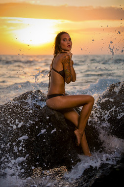 Hawaii Swimsuit Modeling Wannalee Mermaid