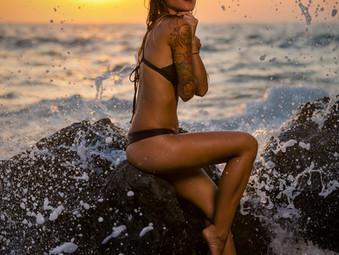 Hawaii Beach Photo Shoot with Wanalee