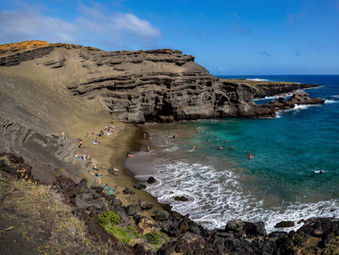 Travel Review: Green Sands Beach on the Big Island of Hawaii