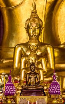 Thiland Chiang Mai Buddahs