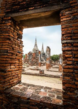 Thiland Ayutthaya Ruins