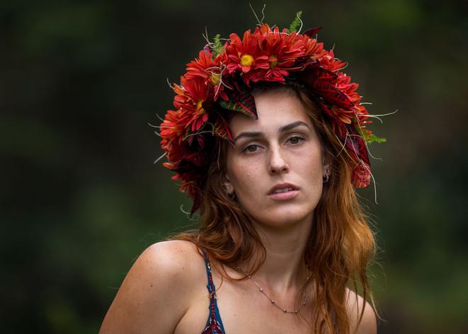 Evelyn Hawaiian Crown #2