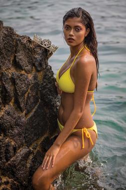Hawaii Swimsuit Modeling Lei Pageant Winner