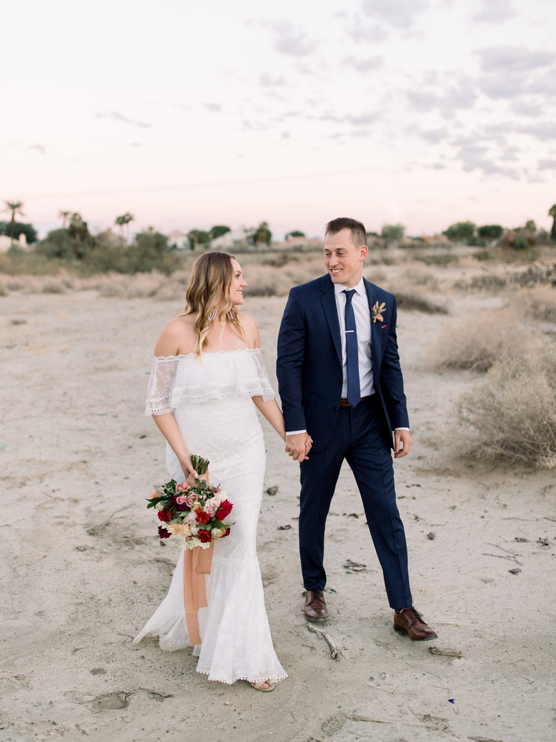 MELISSA & ADAM | THE CHATEAU LAKE LA QUINTA | PALM SPRINGS