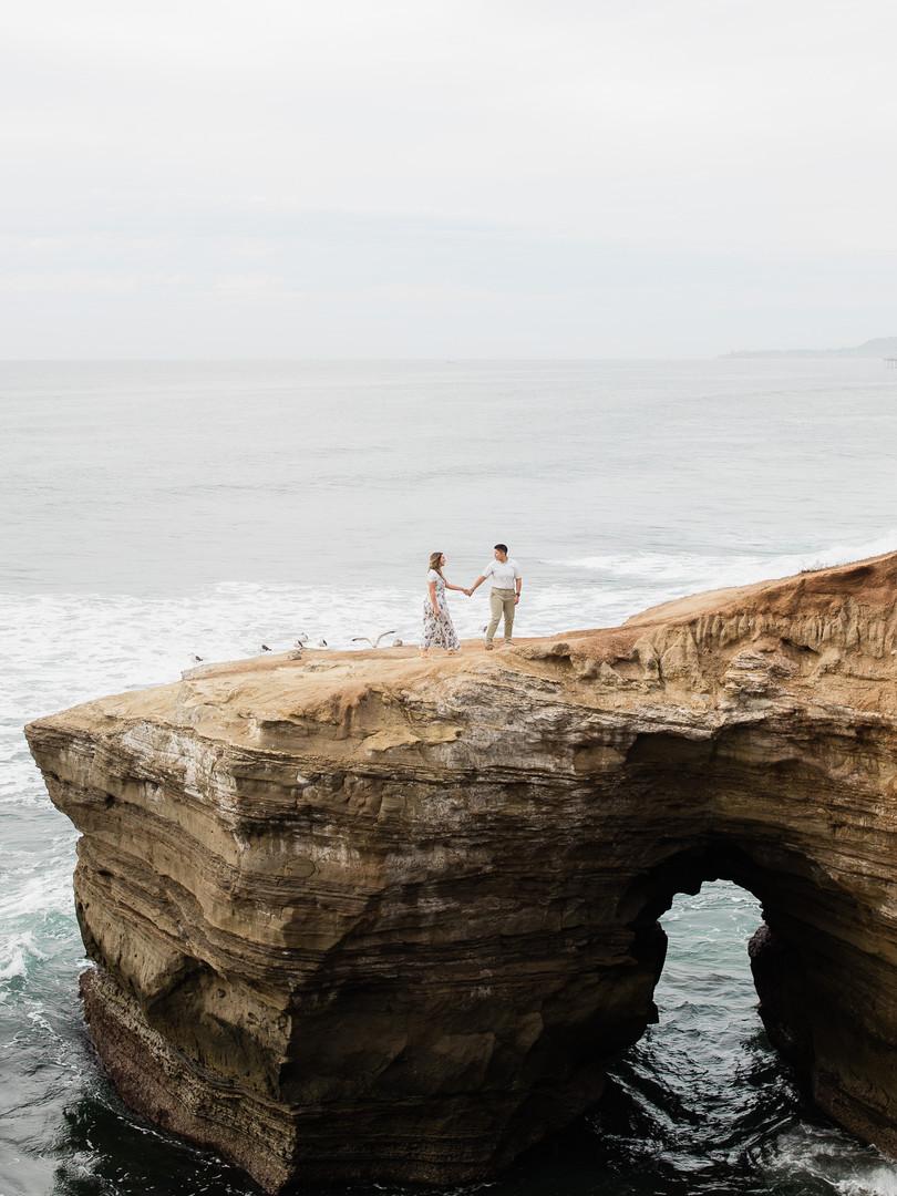 Sunset Cliffs San Diego Engagement Photos