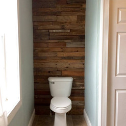 Bathroom Accent Wall