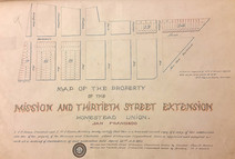 The First Streets of Glen Park