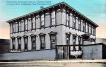 History of the Old Fairmount School