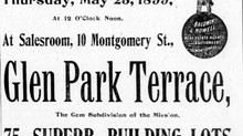 """The First Use of """"Glen Park"""" in the Old Rancho San Miguel"""