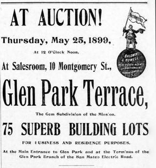 "The First Use of ""Glen Park"" in the Old Rancho San Miguel"