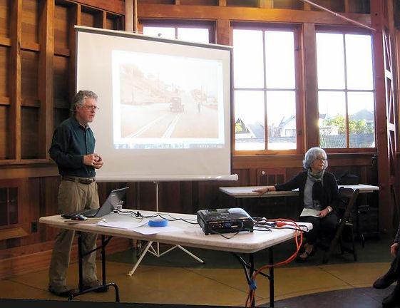 Ken and Kathy Hoegger, Saving the Sunnyside Conservatory