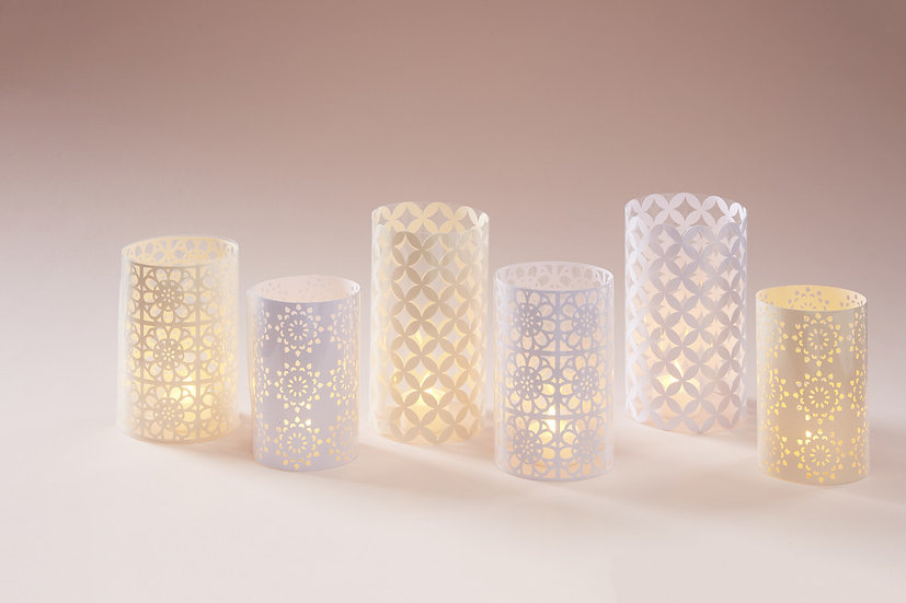 Ivory & Lace Votives