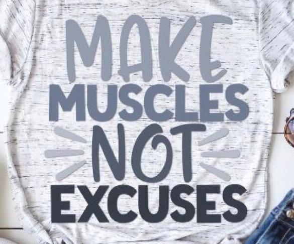 Make Muscles Workout T-Shirt
