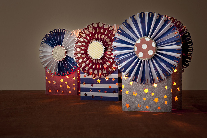 4th of July Luminary Bags