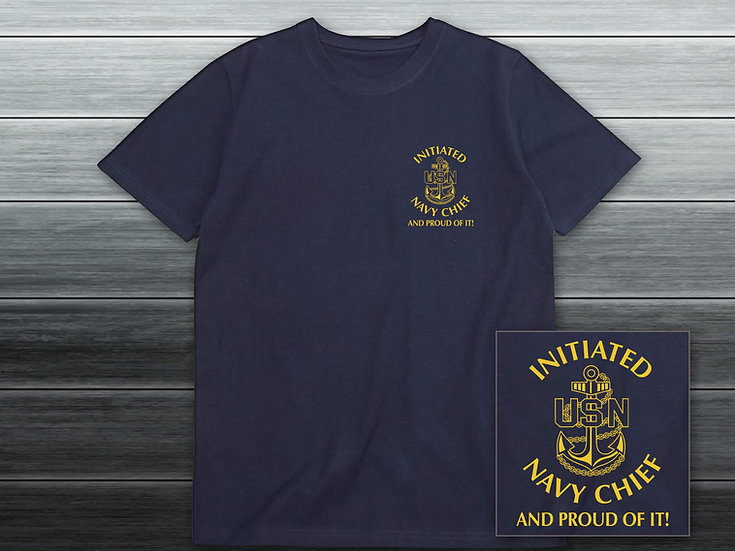 Initiated Navy Chief Navy T-Shirt