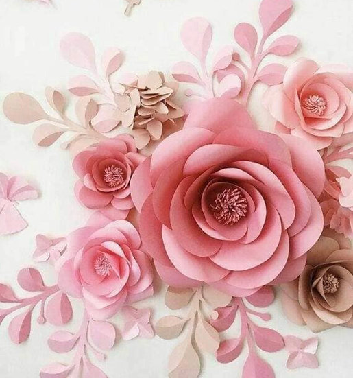 Elegant Rose Wall or Table Decoration