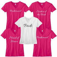 Bridal Shower T-shirt Package