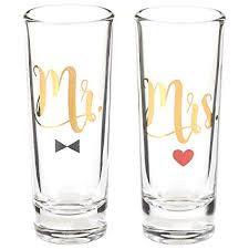 Mr & Mrs Shot Glasses
